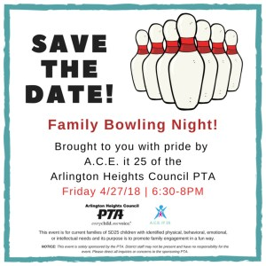 ACE bowling flyer