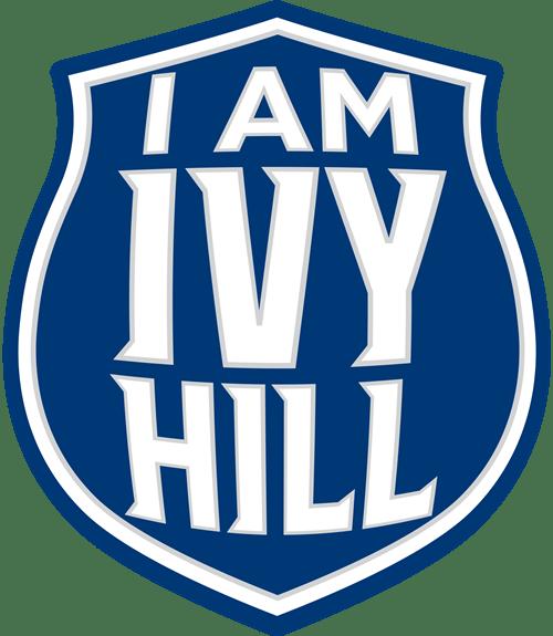 I am Ivy Hill badge