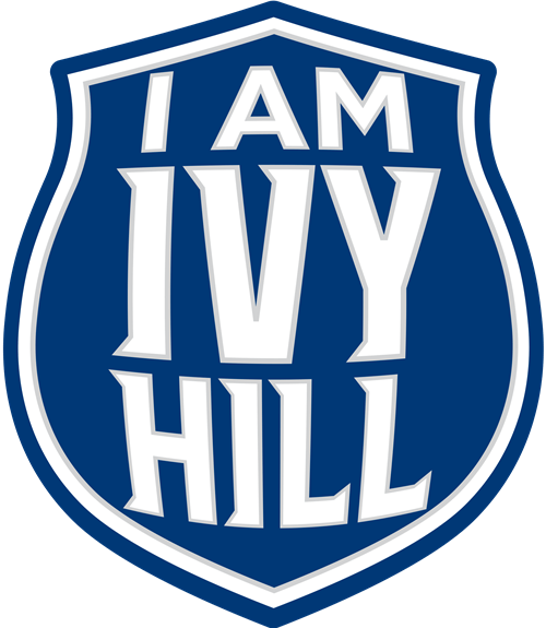I am Ivy Hill badge