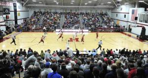 Lavietes Pavilion hasn't hosted too many 26-2 runs in its day.  (gocrimson.com)