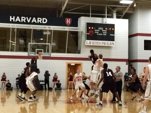 Harvard appears to be closing in on a fifth straight Ivy crown, but the Crimson aren't in the clear just yet. (Robert Crawford)