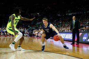 Makai Mason posted 31 points, six rebounds, four assists and just two turnovers in 39 minutes in Yale's NCAA first-round win over Baylor, the program's first ever NCAA victory. (Fansided)