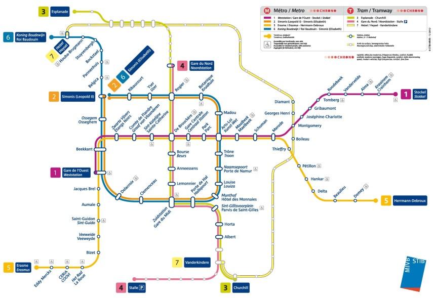 brussels-metro-map