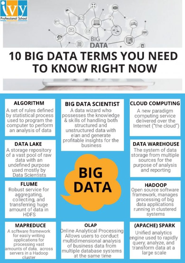 10 Big Data Terms You Need To Know Right Now - Ivy