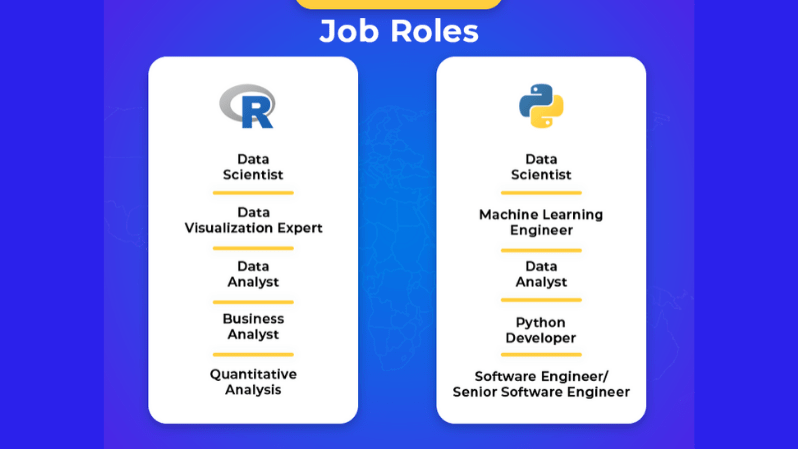 Job Roles R and Python