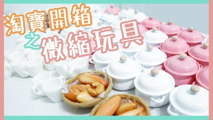 【YOUTUBE系】淘寶開箱超迷你廚具!