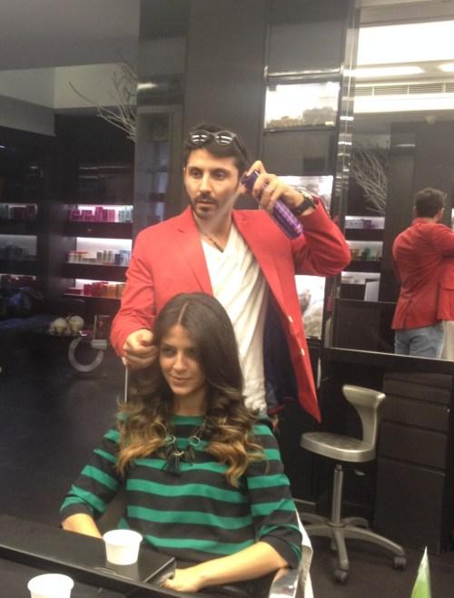 Ivy Says Georges El Mendelek  Sombre hair L'Oreal 1