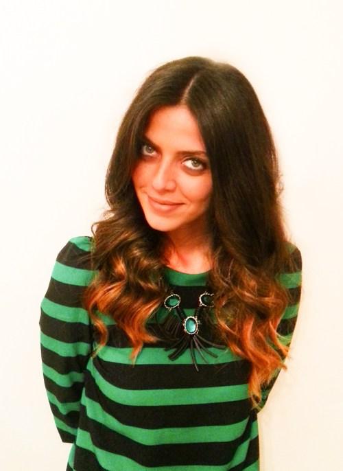 Ivy Says Georges El Mendelek Sombre hair