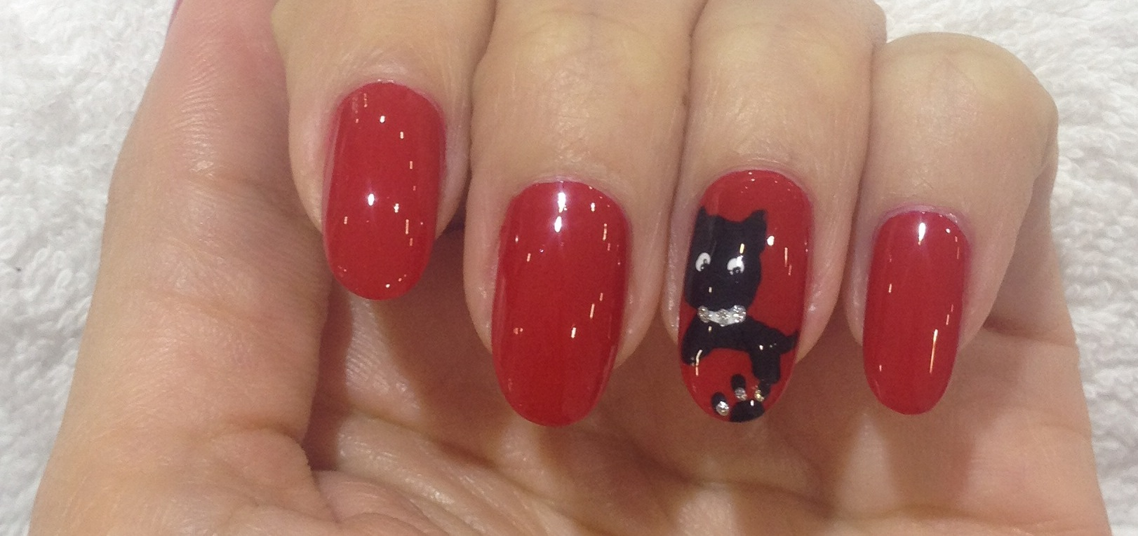 New Year\'s Eve Nails by Beauty Express