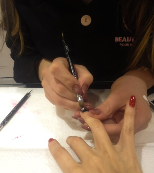 new years nails beauty express