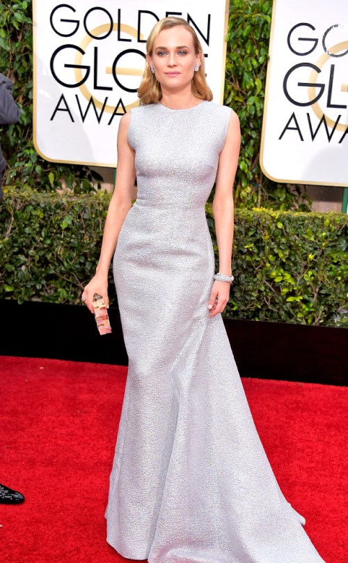 Diane Kruger Golden-Globes-Red-Carpet 2015