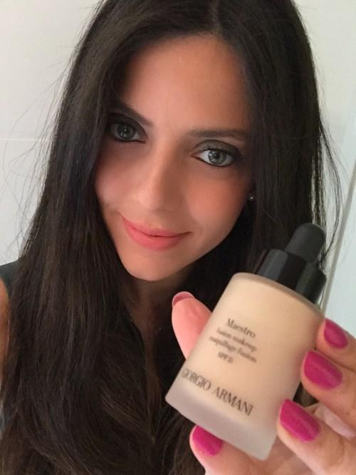 Giorgio armani  dana khairallah summer makeup look