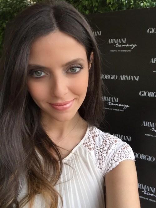 Giorgio armani  dana khairallah summer makeup