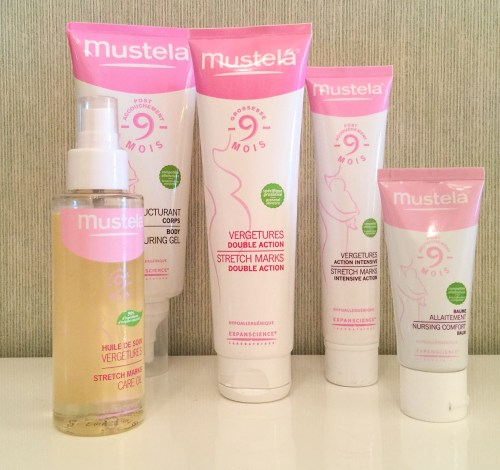 Mustela Full stretch mark collection pregnancy