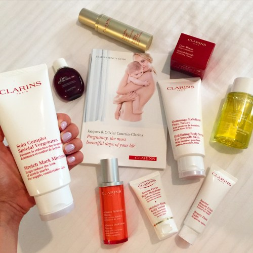 clarins pregnancy guide