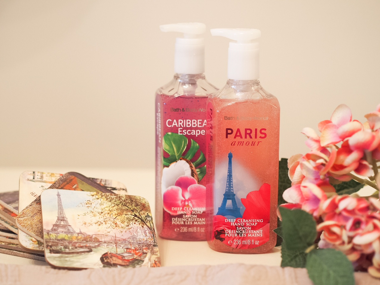 Hand wash soap paris amour bath and body works city centre