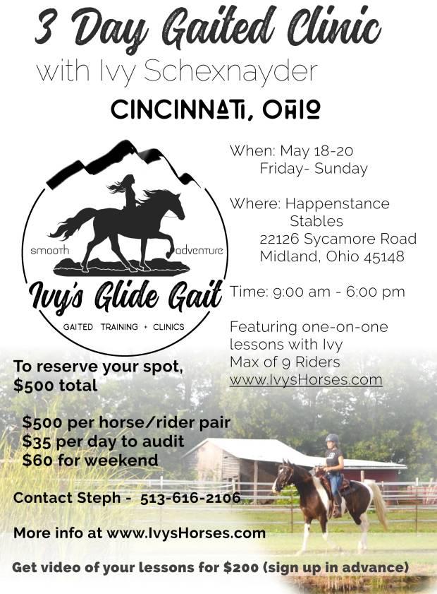 2018 Cincinnati clinic
