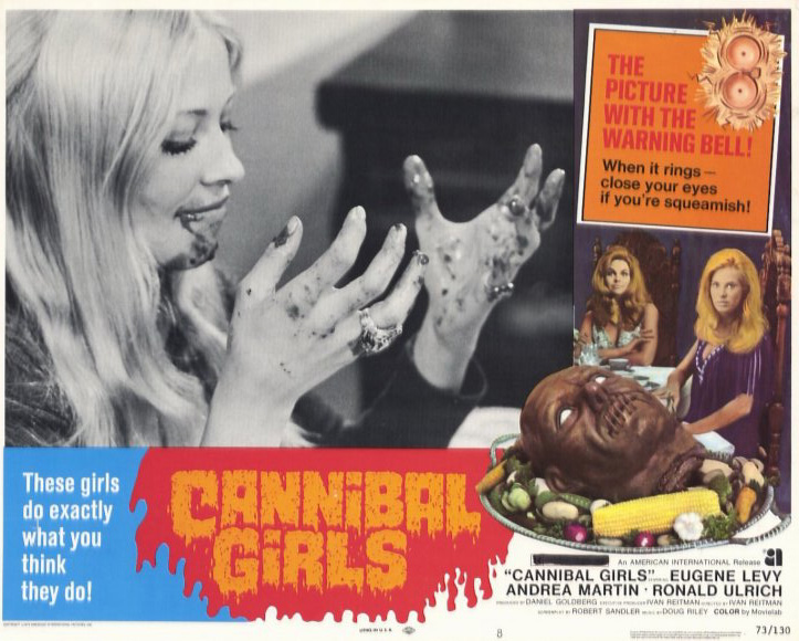 Poster do filme Cannibal Girls