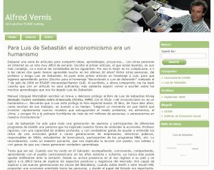 Desarrollo Blog Profesor ESADE
