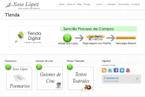 desarrollo web tienda