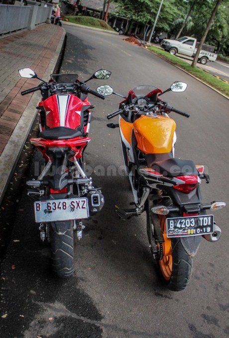 honda all new CBR150R vs old CBR150R (15)