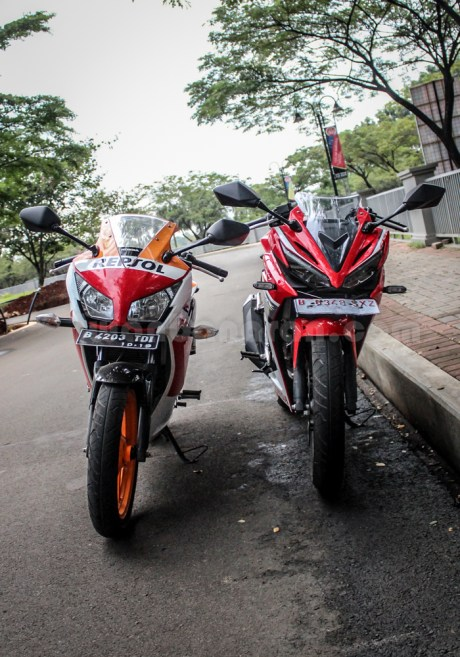 honda all new CBR150R vs old CBR150R (17)
