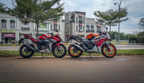 honda all new CBR150R vs old CBR150R (22)