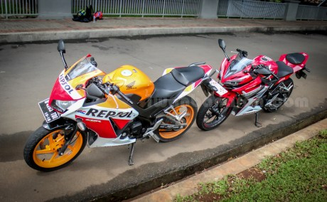 honda all new CBR150R vs old CBR150R (3)