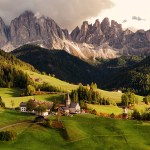 Impossibly Scenic Landscapes in Italy's South Tyrol