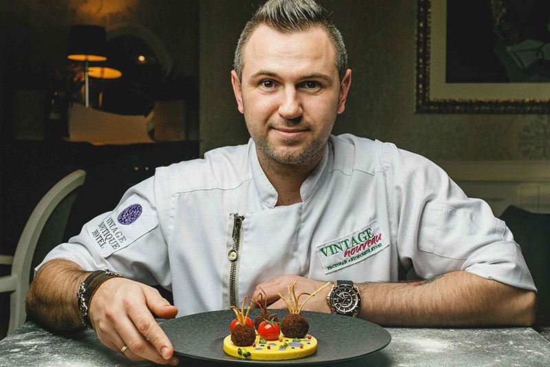 chef iurii kovryzhenko - courtesy of tower club