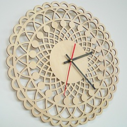 Modern Wall Clock To The Apartment 3d Clock