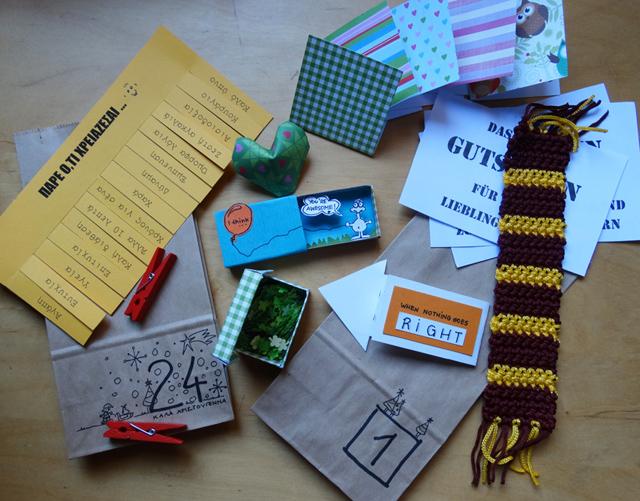 100+ ιδέες για δώρα για advent calendar