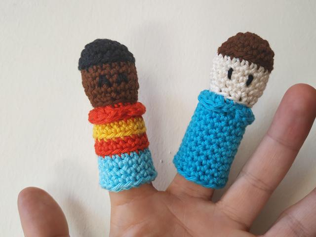 δαχτυλόκουκλες-αγόρια