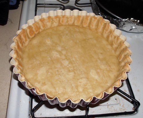 partly-baked tart crust