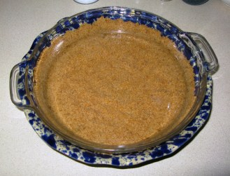 Shaping Cookie Crumb Crust