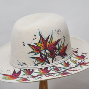 Virginia Leaves II hat