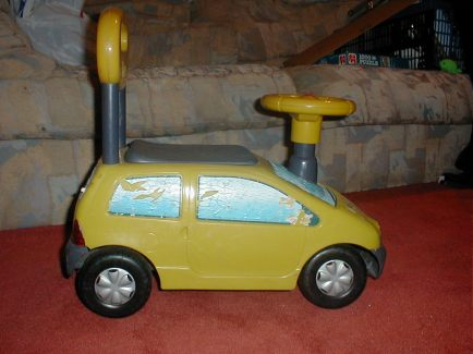 Twingo ride on
