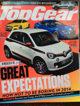 BBC Top Gear Magazine Oct 2014