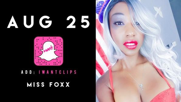 AUG25-MissFoxx