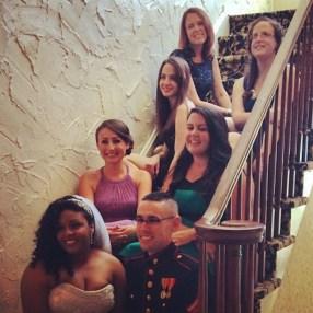 stairs - wedding