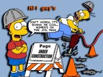 Homer's On The Job Man