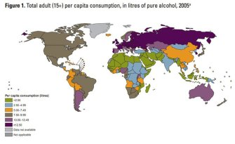 Alcohol Consumption Around the World