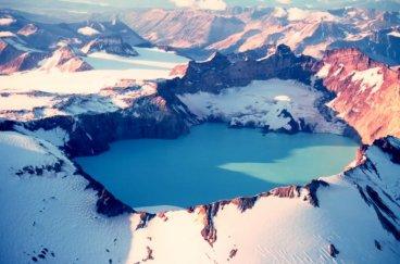 Crater Lake, Mount Katmai – Alaska, USA