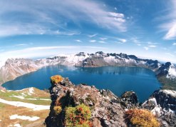 Heaven Lake, Baekdu Mountain – China, North Korea