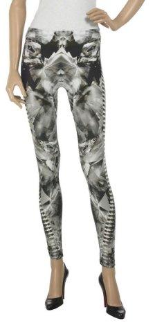 Skeleton-print Lycra leggings- Spring 2009
