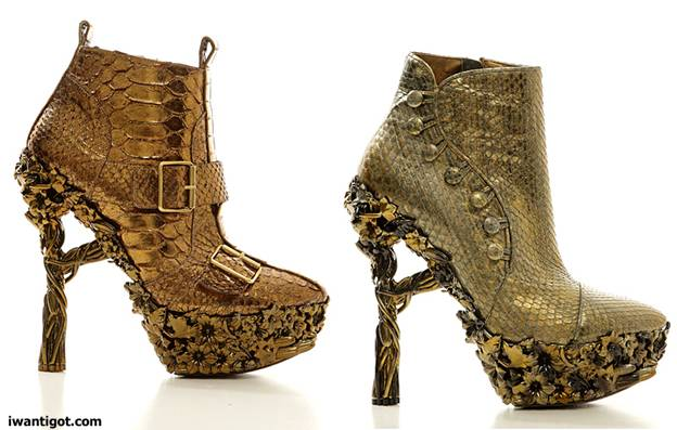 Alexander McQueen Fall 2010 - 2011 Shoes
