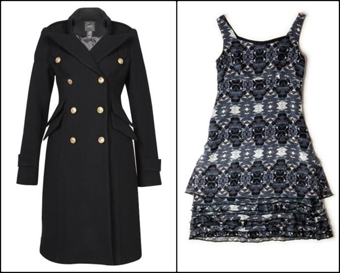 Smythe Great Coat, Philip Sparks Slip Dress