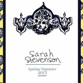 Sarah Stevenson Spring Summer 2013