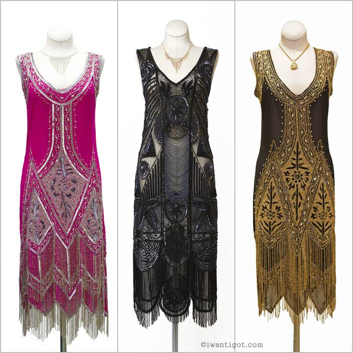 I want - I got's Holiday Gift Guide - Cabaret Vintage Flapper Dress