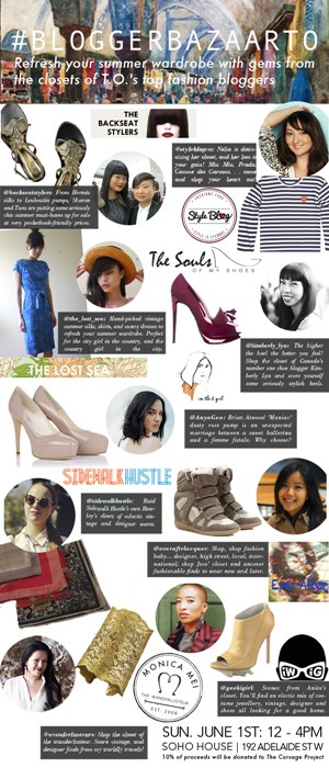 Blogger Bazaar TO – June 1, 2014